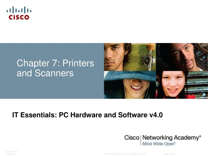 Chapter 7 printers and scanners