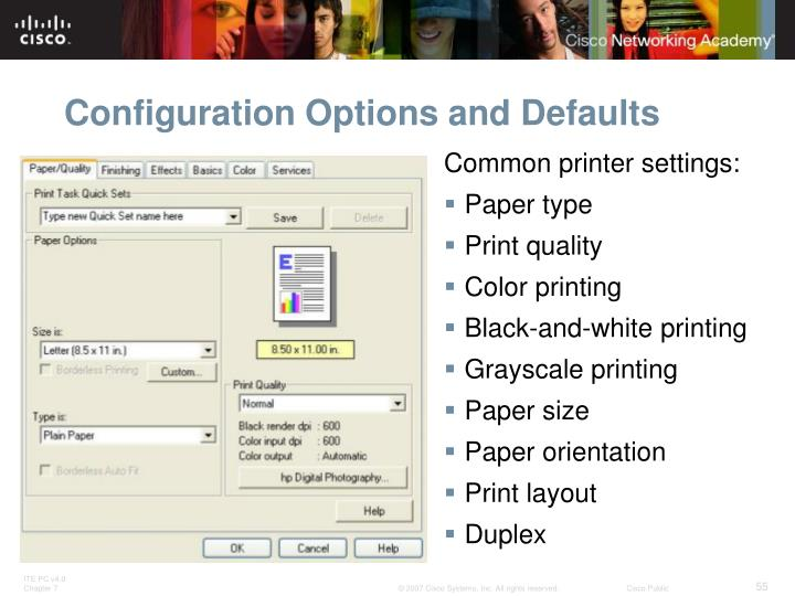 Configuration Options and Defaults