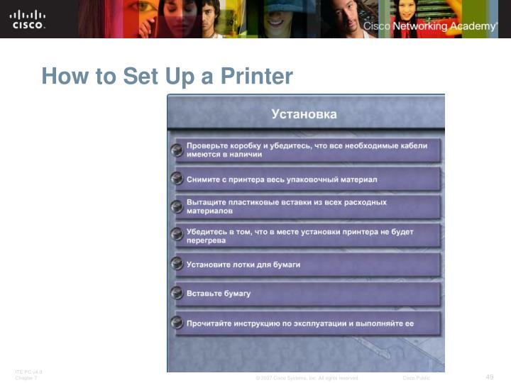 How to Set Up a Printer