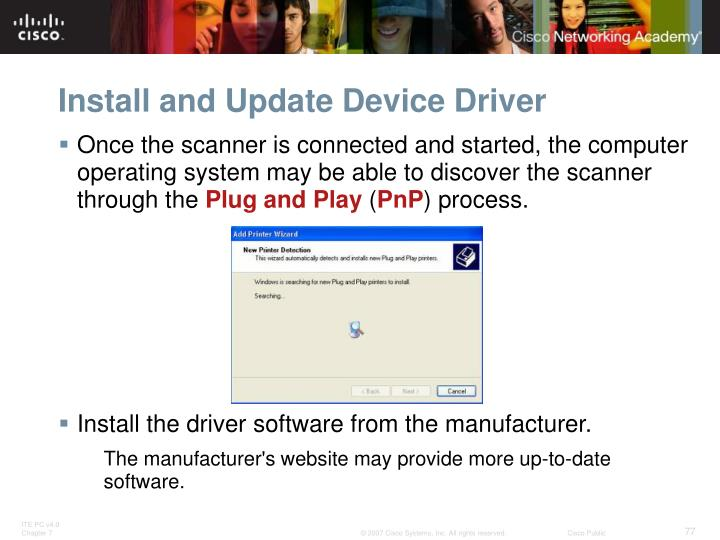 Install and Update Device Driver
