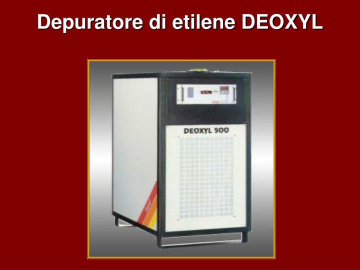 Depuratore di etilene DEOXYL