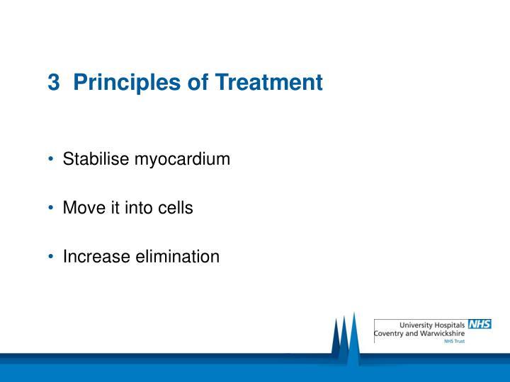 3  Principles of Treatment