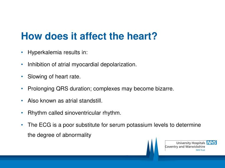 How does it affect the heart?