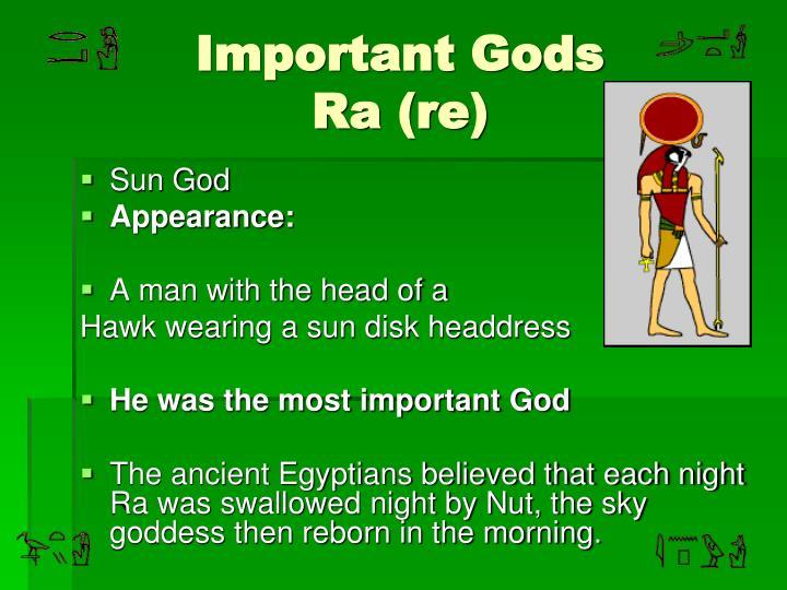 Important Gods