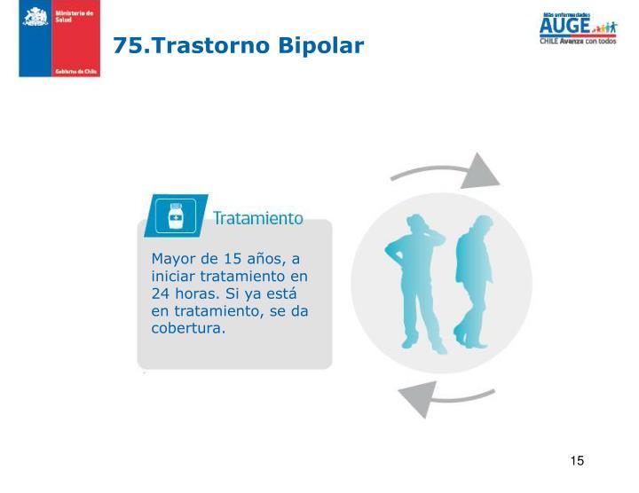 75.Trastorno Bipolar