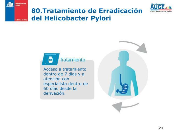 80.Tratamiento de Erradicaci