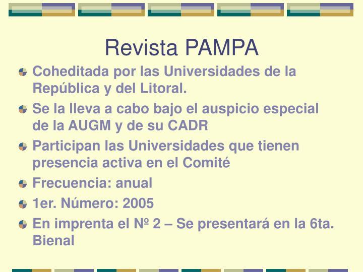 Revista PAMPA