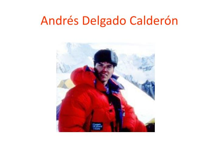 Andrés Delgado Calderón