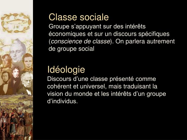 Classe sociale