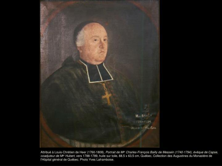 Attribué à Louis-Chrétien de Heer (1760-1808),