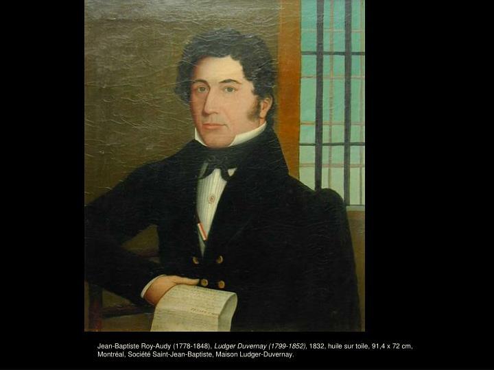 Jean-Baptiste Roy-Audy (1778-1848),