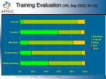training evaluation vn sep 2000 n 13