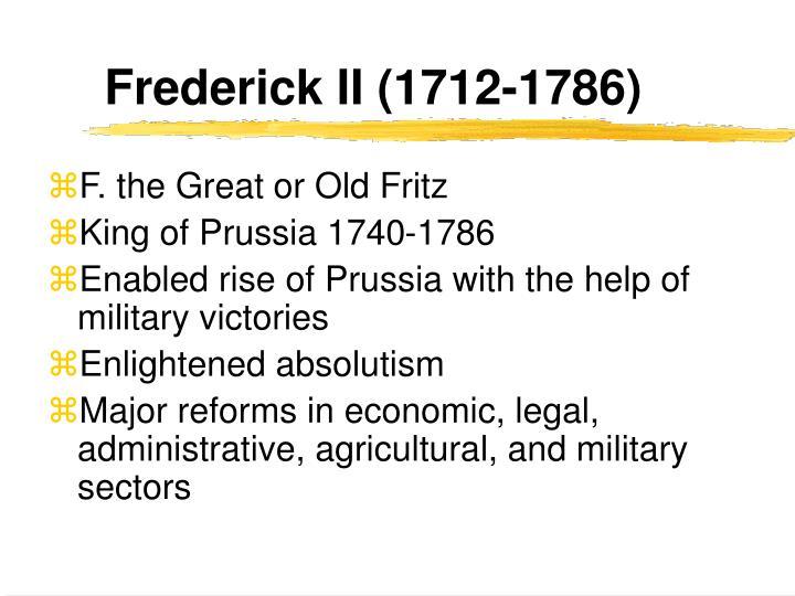 Frederick II (1712-1786)
