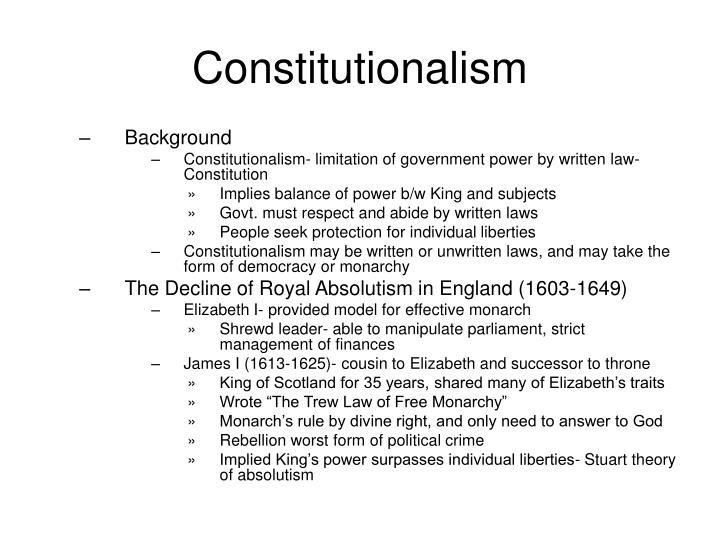 Konstitutionalismi