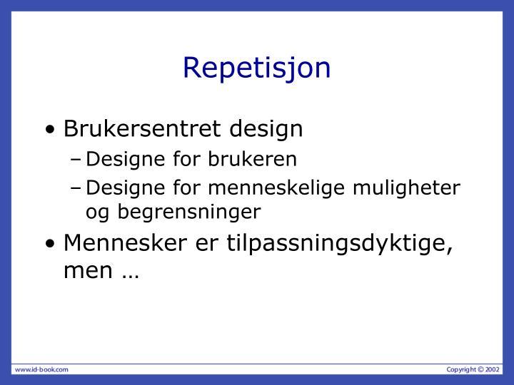 Repetisjon