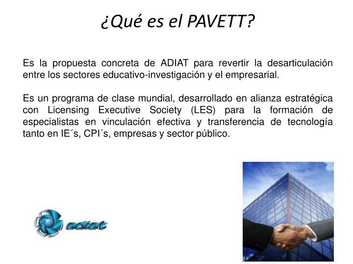 Es la propuesta concreta de ADIAT para revertir la desarticulación entre los sectores educativo-investigación y el empresarial.