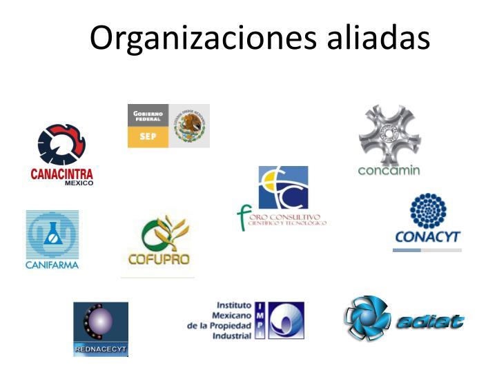 Organizaciones aliadas