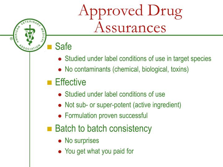 Approved Drug Assurances