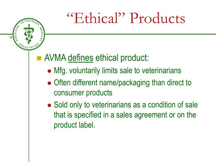 """Ethical"" Products"