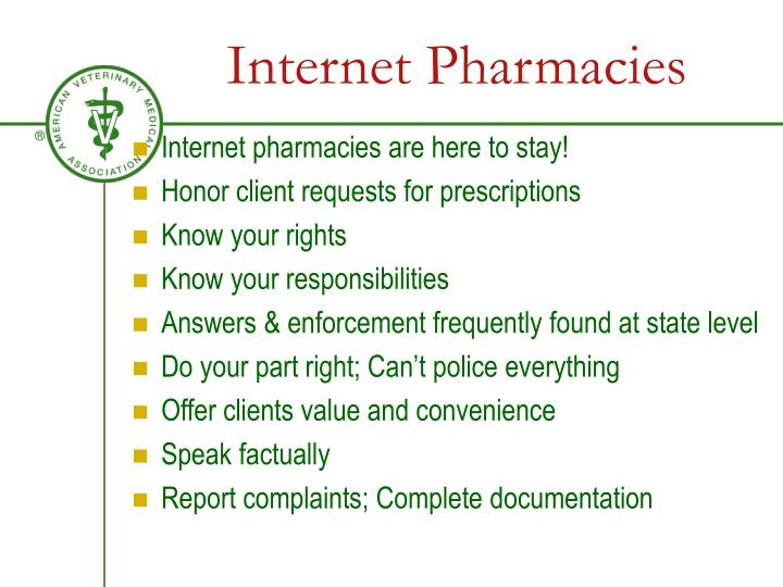Internet Pharmacies