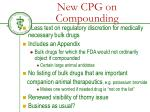 new cpg on compounding1