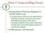 state compounding issues