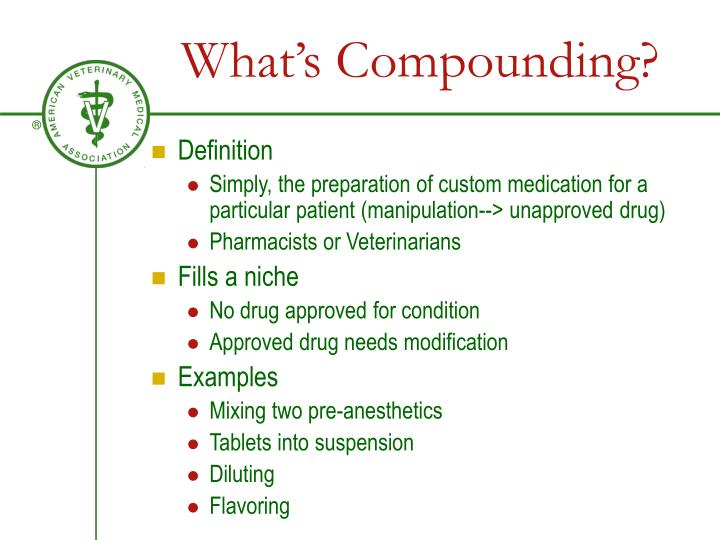 What's Compounding?