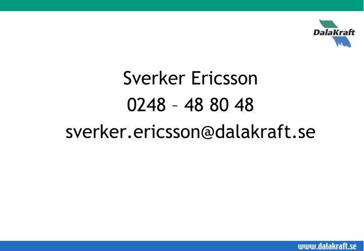 Sverker Ericsson