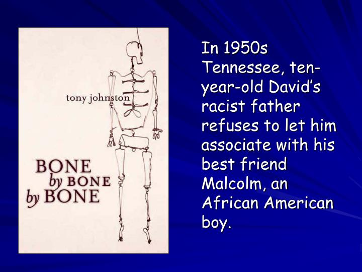 In 1950s Tennessee, ten-year-old David's racist father refuses to let him associate with his best friend Malcolm, an African American boy.