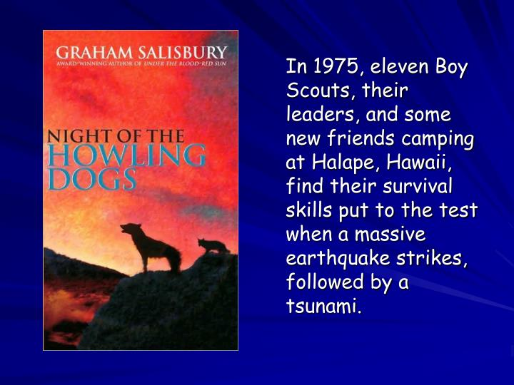 In 1975, eleven Boy Scouts, their leaders, and some new friends camping at Halape, Hawaii, find their survival skills put to the test when a massive earthquake strikes, followed by a tsunami.
