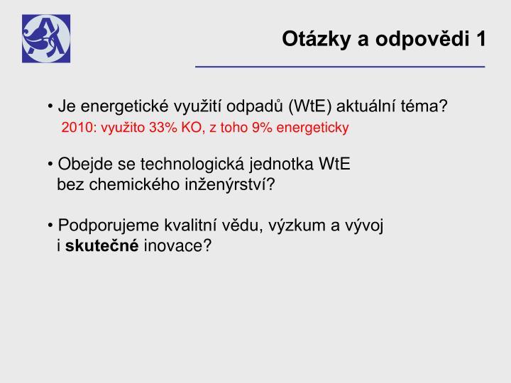 Otázky a odpovědi 1