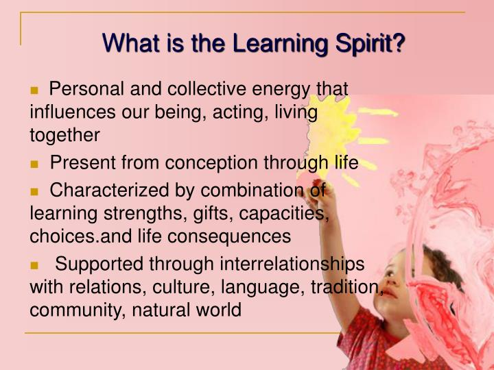 What is the Learning Spirit?