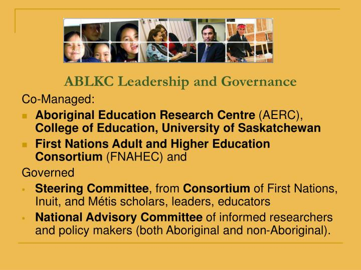ABLKC Leadership and Governance