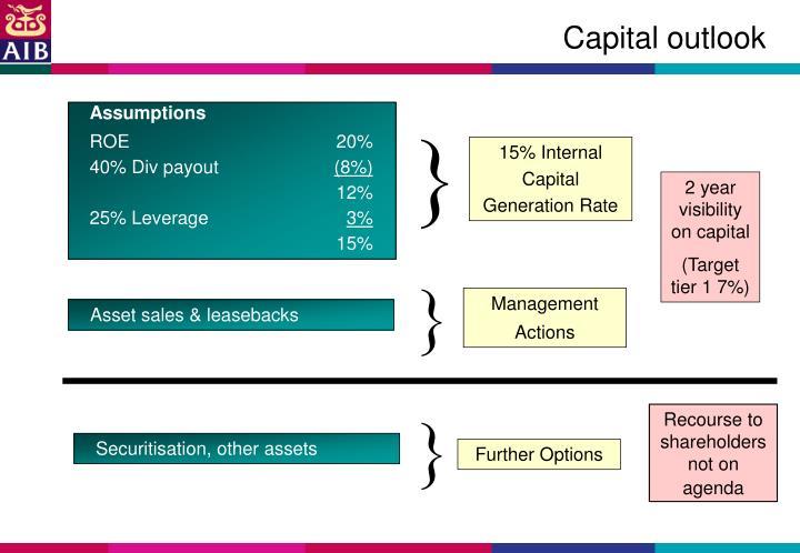 Capital outlook