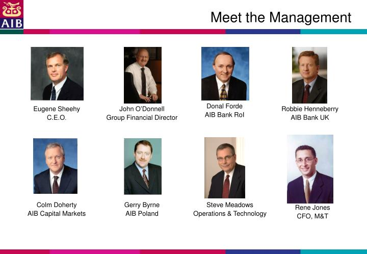 Meet the Management