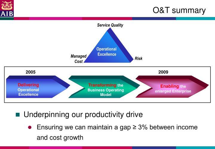O&T summary