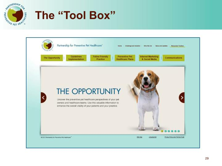 "The ""Tool Box"""