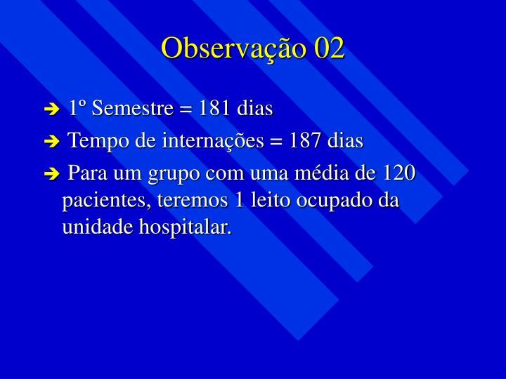 Observação 02