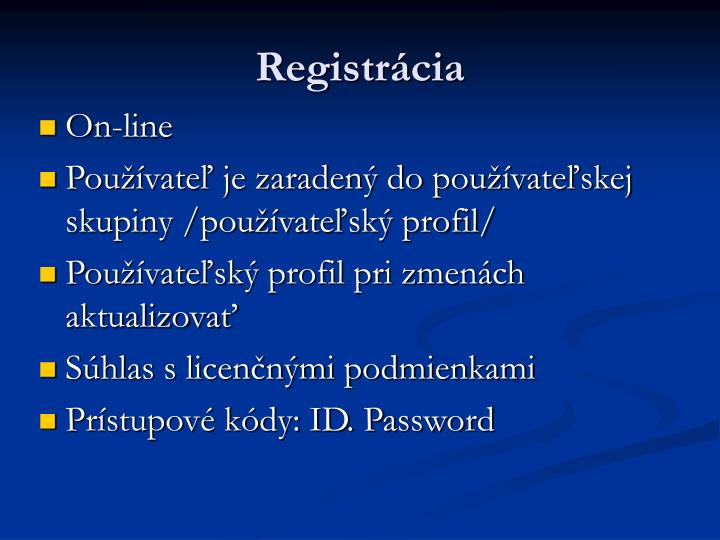Registrcia