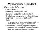 myocardium disorders1
