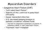 myocardium disorders2