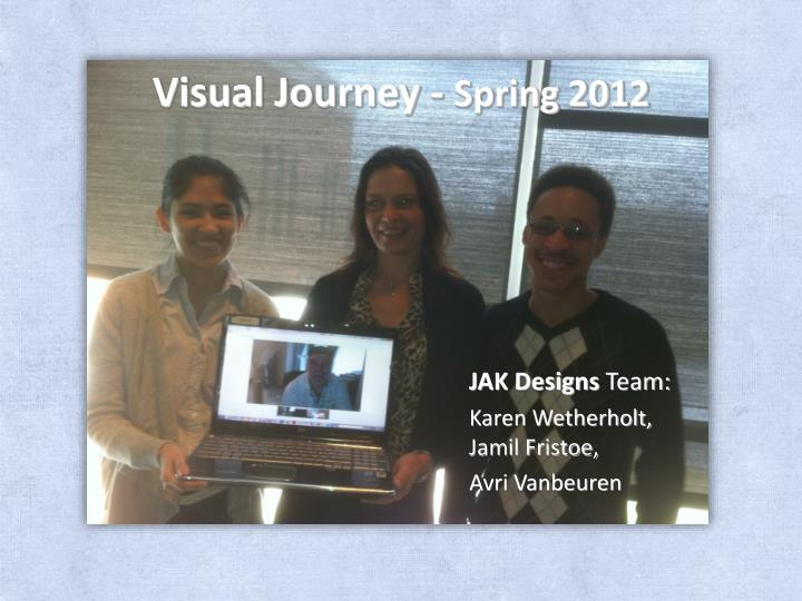 Visual journey spring 2012