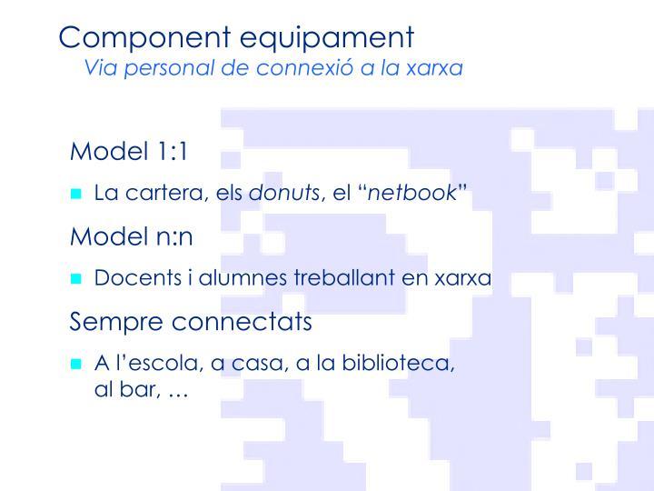 Component equipament