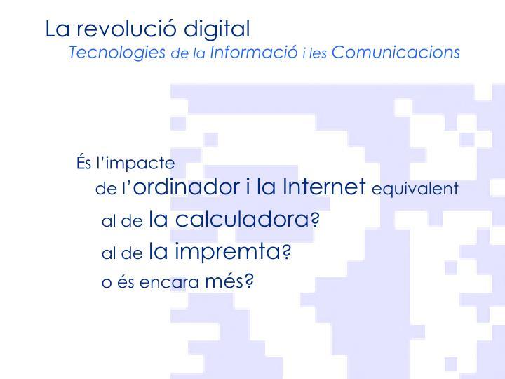 La revolució digital