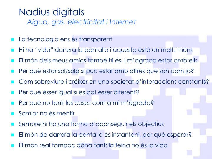 Nadius digitals