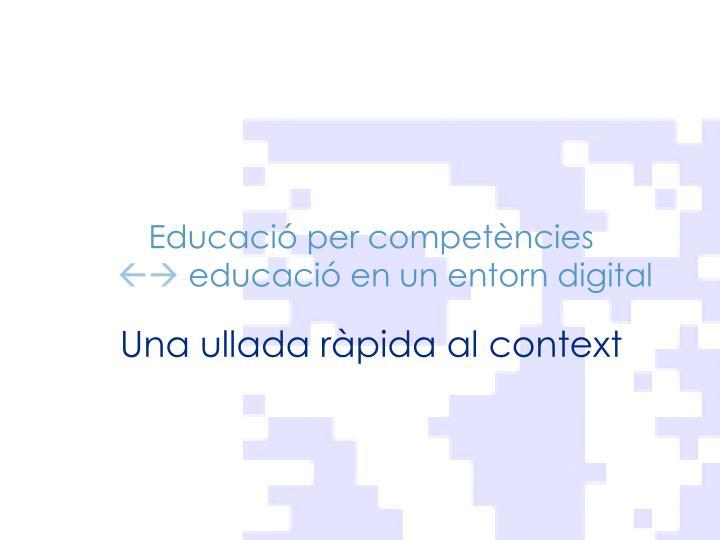 Educació per competències