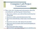 computer lab project constellations2