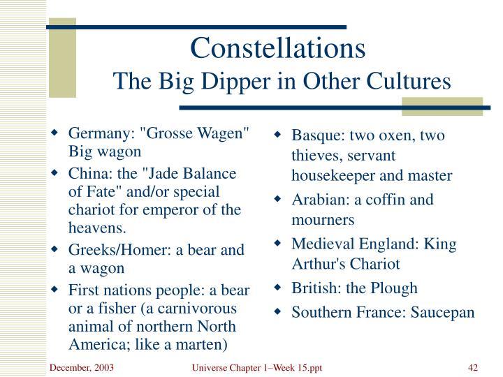 "Germany: ""Grosse Wagen"" Big wagon"