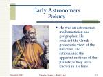 early astronomers ptolemy1