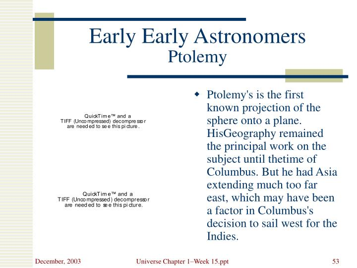 Early Early Astronomers